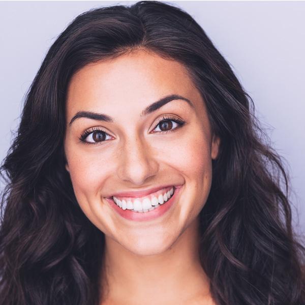 Samantha Sayah with big smile
